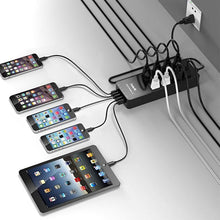 Загрузить изображение в средство просмотра галереи, HAVIT HV-8A5U 8 AC Outlets Surge Protector / Power Strip / Wall Charger with 5 Fast Charging USB Charger Charging Ports