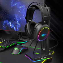 Load image into Gallery viewer, HAVIT H2016D RGB Wired Gaming Headset with Stereo Surround Sound and HD Mic
