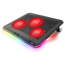 Load image into Gallery viewer, HAVIT F2073 Gaming Laptop Cooling Pad for 15.6-17 Inch Laptop with RGB Backlight & Touch Control