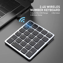 Load image into Gallery viewer, HAVIT KB260GCM 26 Keys Wireless Number Keypad for Mac OS and Window System