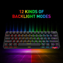 Load image into Gallery viewer, HAVIT KB611CM 60% Mechanical Keyboard & Programmable RGB Mouse Combo - 61 Keys Wired Type-C Backlit