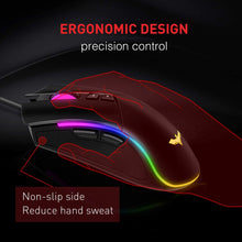Load image into Gallery viewer, HAVIT MS733 RGB Programmable Gaming Mouse (2020 Version)