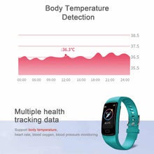 Load image into Gallery viewer, HAVIT M9007T Smart Watch Ultra-thin Fitness Tracker, IP67 Waterproof, Body Temperature Detection