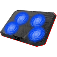 Load image into Gallery viewer, HAVIT HV-F2069 Laptop Cooling Pad for Up to 17 Inch Laptop with 4 Fans & LED Light