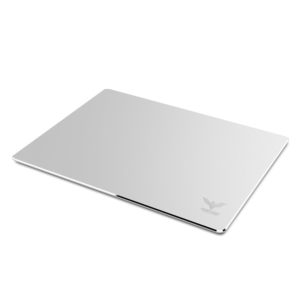 HAVIT HV-MP835 Aluminum Mouse Pad, Rubber Base, Silver
