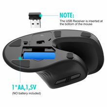 Load image into Gallery viewer, HAVIT HV-MS55GT Wireless Vertical Mouse with Ergonomic Design, Optical