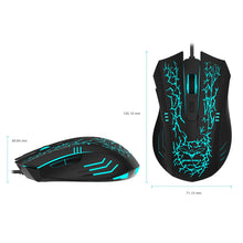 Load image into Gallery viewer, HAVIT HV-MS672 Ergonomic LED Stress-Ease Wired Mouse (Updated Version)