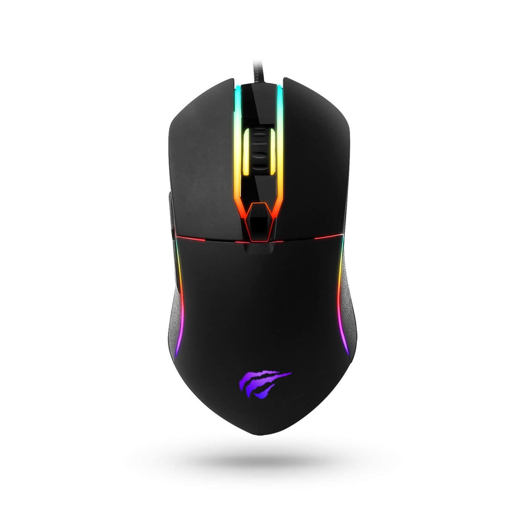 HAVIT HV-MS761 6-Button Gaming Mouse with Avago A3050 Chipset, Up to 4000 DPI, RGB