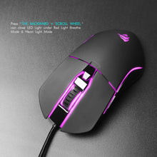 Load image into Gallery viewer, HAVIT HV-MS761 6-Button Gaming Mouse with Avago A3050 Chipset, Up to 4000 DPI, RGB