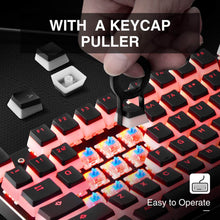 Load image into Gallery viewer, HAVIT KC22 PBT Keycaps with Puller - Pudding, Double Shot, for Cherry MX / Outemu Mechanical Keyboards