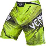 venum galactic fightshorts neo yellow