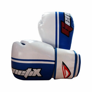 GENETIX Boxing Gloves DOMINATE GBG3L WhiteBlue