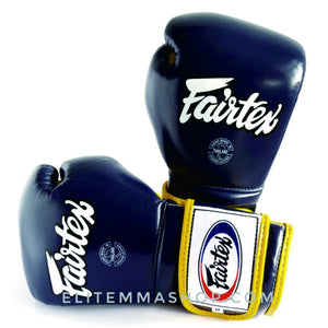 fairtex mexican style training boxing gloves blueyellow bgv9