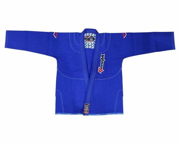 genetix bjj gi hansei royal blue