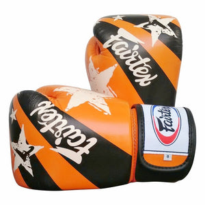 fairtex boxing gloves std np orangenationprint bgv1 np