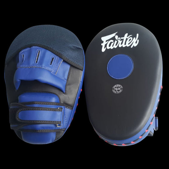 fairtex cardio focus mits blackblue fmv13