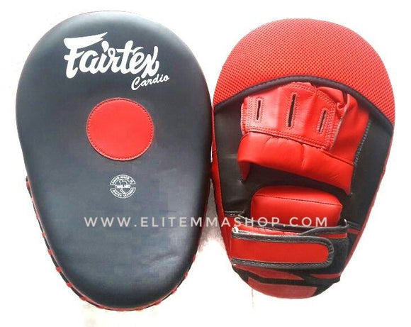 fairtex cardio focus mits blackred fmv13