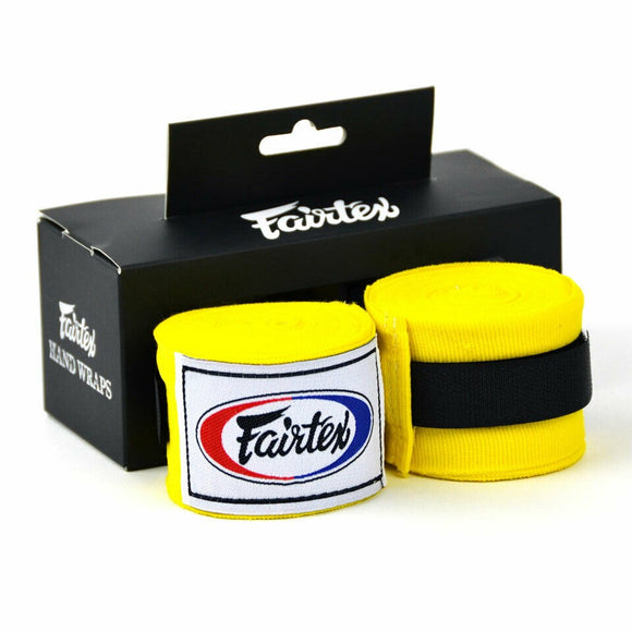 fairtex handwraps 120 yellow hw1