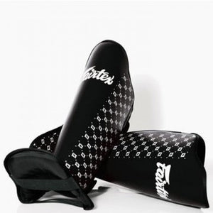 fairtex competition shin pads black sp5