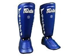 fairtex twister shin pad blue sp7