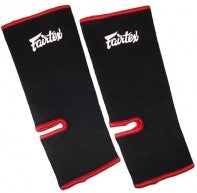 fairtex ankle supports black red as1