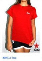 fairtex women fitness shirt red bwc3