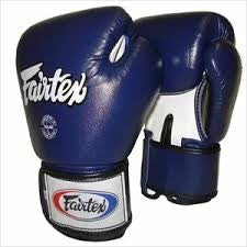 fairtex boxing gloves std bluewhiteblack bgv1