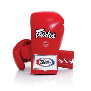fairtex pro competition boxing gloves red bgl6