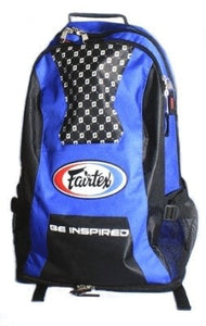 fairtex back pack black blue bag4