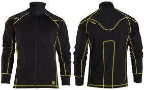jaco hybrid training jacket sf black sugafly yellow