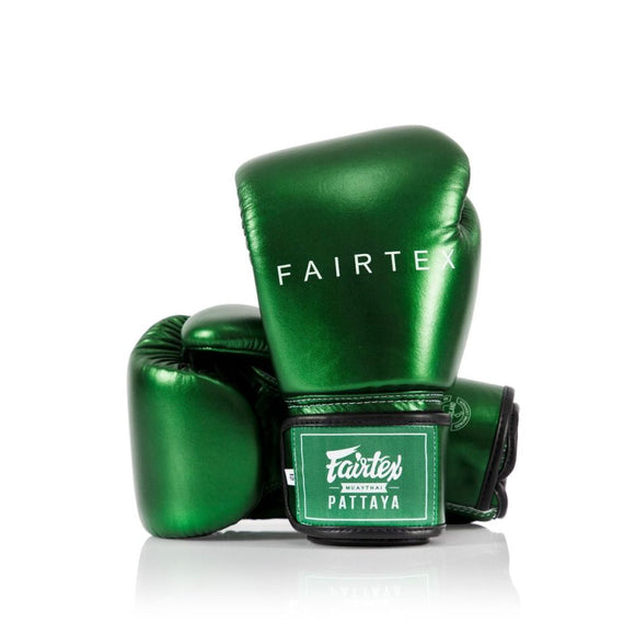 FAIRTEX Boxing Glove METALLIC BGV22 Green