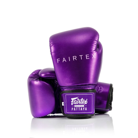 FAIRTEX Boxing Glove METALLIC BGV22 Purple