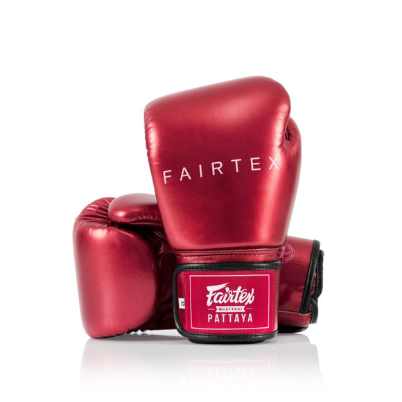 FAIRTEX Boxing Glove METALLIC BGV22 Red