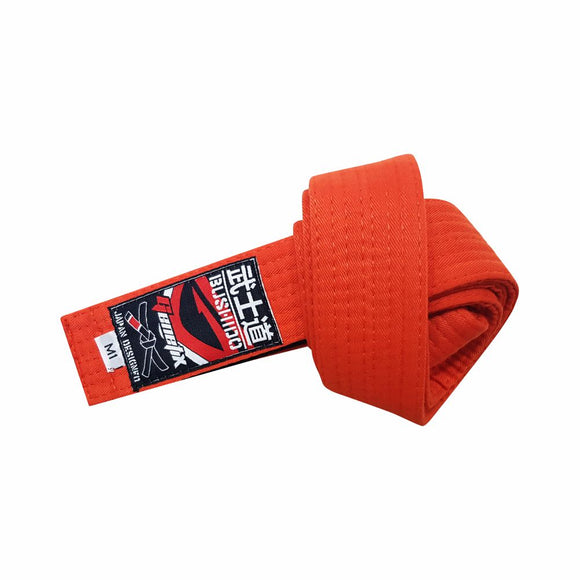 GENETIX Bushido BJJ KIDS Belt Orange