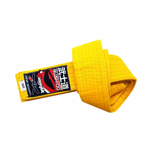 GENETIX Bushido BJJ KIDS Belt Yellow