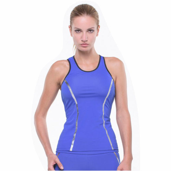 GRIPS Women Performance Tank - BLUE