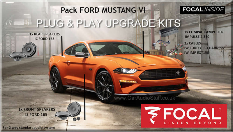 Plug & Play Sound upgrade kits for your car