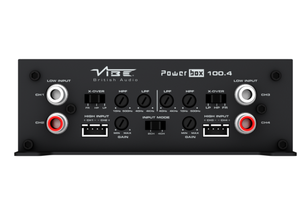Vibe 4 Channel Ultra Compact Class D Amplifier 4x100w Powerbox 100.4M by Vibe - CarAudioStuff