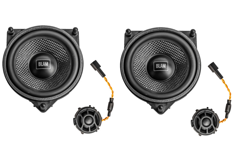 BLAM Upgrade Mercedes Direct Fit 2 way Component Speaker System MB100S by BLAM - CarAudioStuff