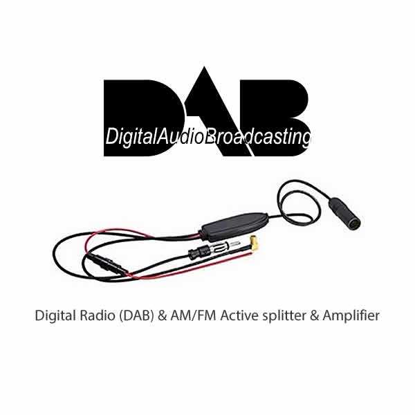 Digital Radio (DAB) & AM/FM Active splitter & Amplifier by CAS - CarAudioStuff