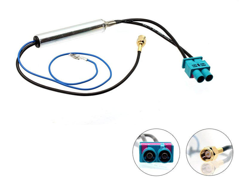 Connects2 -Double Male Fakra - SMA Male Antenna Adapter - CT27AA112 by Connects2 - CarAudioStuff