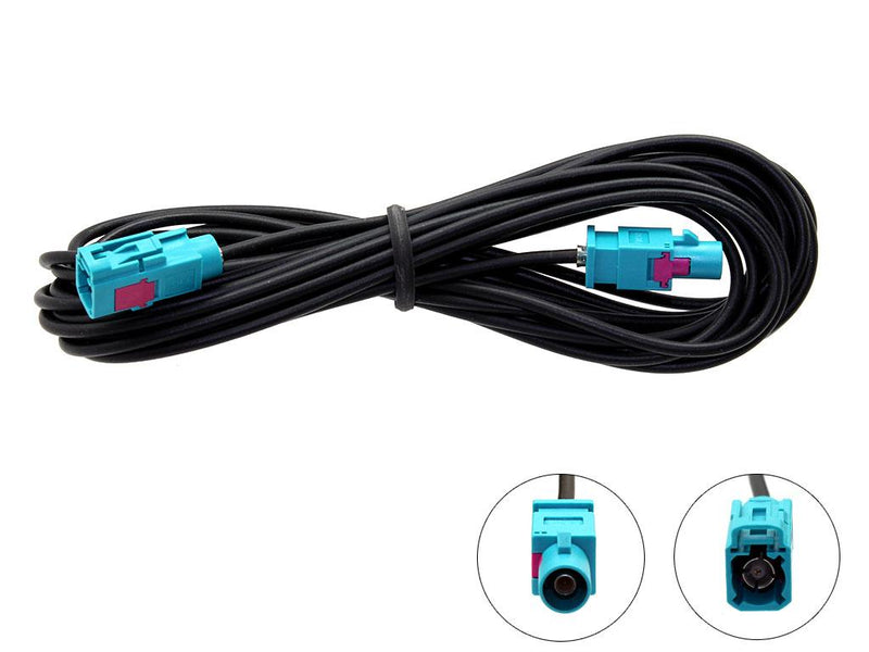 Connects2 - 5M Male Fakra - Female Fakra Extension Cable -CT27AA119 by Connects2 - CarAudioStuff