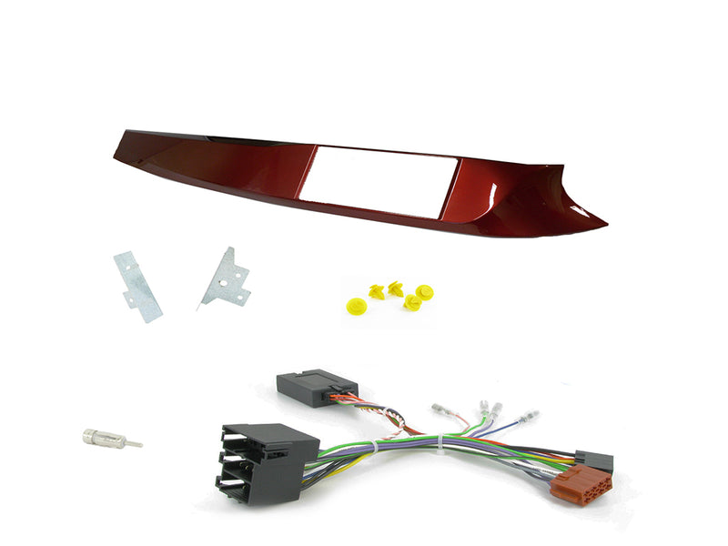 Double DIN Installation Kit for Alfa Romeo Giulietta CTKAR02 Red by Connects2 - CarAudioStuff