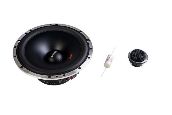 "Vibe 2 Way 6.5"" 165mm Component Speaker Kit 120 Watts CVEN 62C by Vibe - CarAudioStuff"