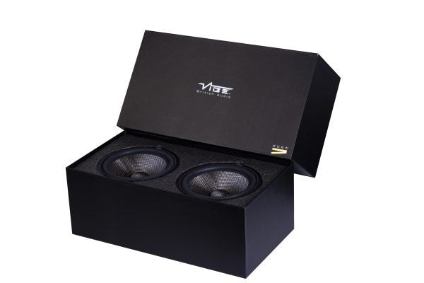 "Vibe 6.5"" 165mm SQ Sound Quality Midwoofer Set CVEN6.5SQW by Vibe - CarAudioStuff"