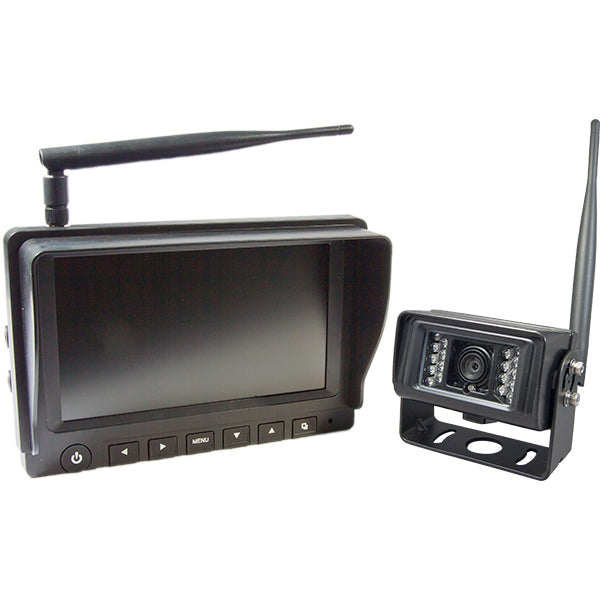 "Wireless Digital Reverse Camera Kit with Night Vision Camera and 7"" Monitor by C-KO - CarAudioStuff"