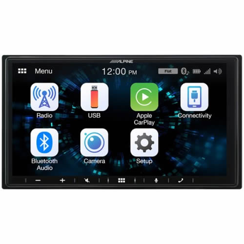 Alpine 7 Digital Media Station with Apple CarPlay and Android Auto ILX-W650BT by Alpine - CarAudioStuff