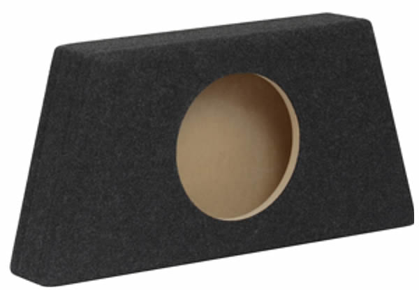 "Q+ SS1015 MDF Slim Subwoofer Enclosure for 10"" (25cm) Sub by Q+ - CarAudioStuff"