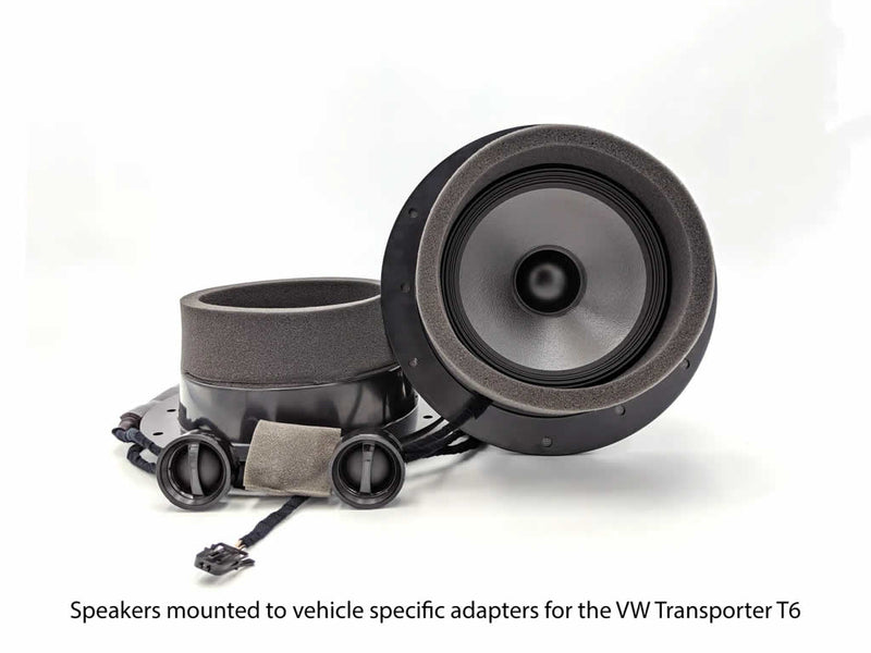 Alpine - Sound Upgrade kit FRONT SPEAKERS FOR VOLKSWAGEN TRANSPORTER T6 S-S65C-T6R by Alpine - CarAudioStuff
