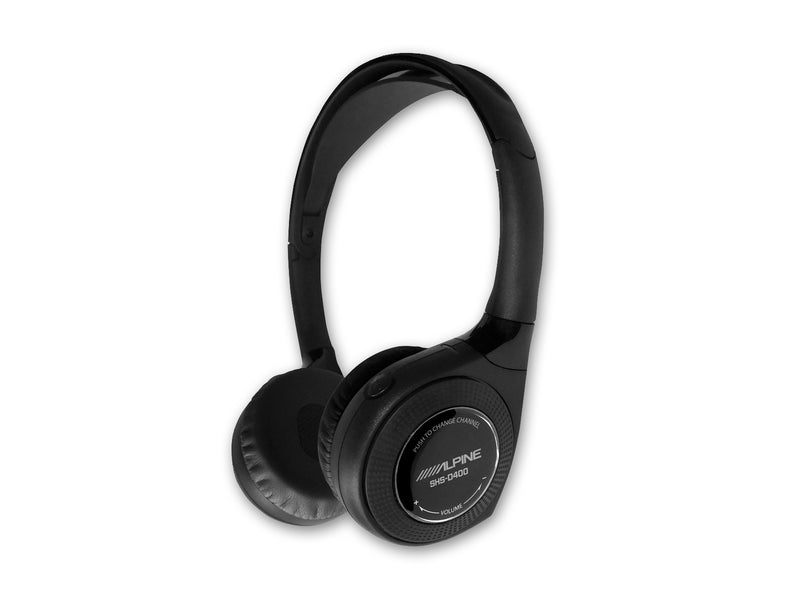 Alpine Quad Source Digital 4 Channel Wireless Headphones SHS-D400 by Alpine - CarAudioStuff